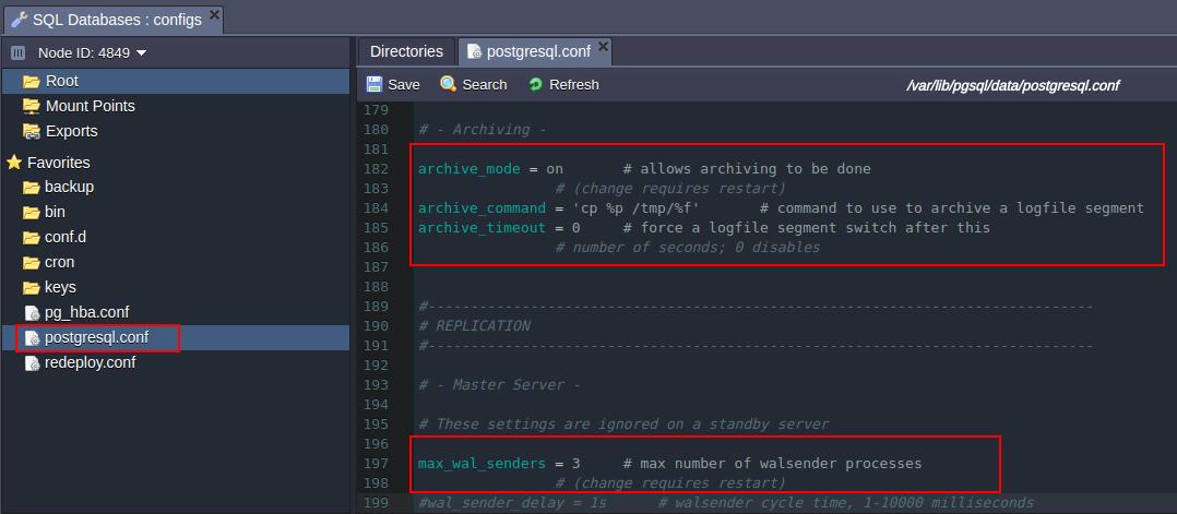 PostgreSQL Database Replication - Knowledgebase - CloudJiffy