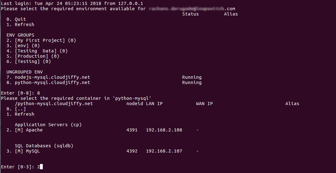 MySQL > Python Connection - Tudásbázis - CloudJiffy